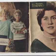 Coleccionismo de Revistas y Periódicos: MERIDIANO FEMENINO NUMERO 158: SORAYA LA MAS HERMOSA PRINCESA DEL MUNDO. Lote 180147017