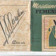 Coleccionismo de Revistas y Periódicos: MERIDIANO FEMENINO NUMERO 096: ESPAÑOLAS QUE FUERON REINAS,. Lote 180147021