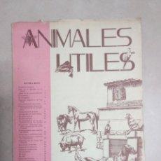 Coleccionismo de Revistas y Periódicos: LOTE 13 REVISTAS ANIMALES ÚTILES. ZARAGOZA. Lote 180149180