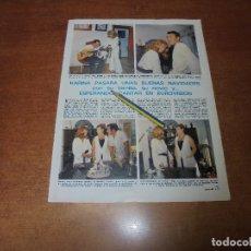 Coleccionismo de Revistas y Periódicos: RETAL 1970: KARINA CON SU FAMILIA Y SU NOVIO ESPERANDO CANTAR EN EUROVISIÓN. Lote 180149557