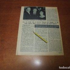 Coleccionismo de Revistas y Periódicos: RETAL 1970: FRANK SINATRA - PUBLICIDAD CRISTAL D'ARQUES. Lote 180149563
