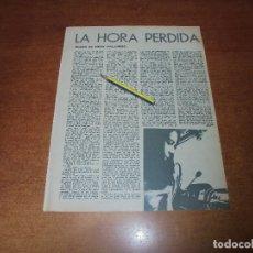 Coleccionismo de Revistas y Periódicos: RETAL 1970: RELATO CORTO DE NINO PALUMBO. LA HORA PERDIDA.. Lote 180149571