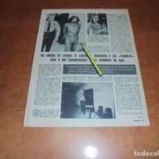 Coleccionismo de Revistas y Periódicos: RETAL 1970: CHARLES MANSON - PUBLICIDAD IKE Y BANDEJA TERMO LILIBETH. Lote 180149573