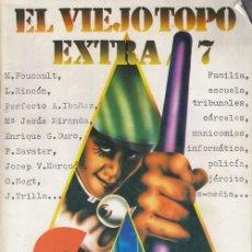 Coleccionismo de Revistas y Periódicos: EL VIEJO TOPO - EXTRA Nº 7 - NUMERO DOBLE 1976 - CONTROL SOCIAL #. Lote 180167680