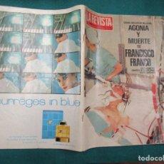 Coleccionismo de Revistas y Periódicos: LA REVISTA DEL MUNDO Nª 4 OCTUBRE 1984 AGONIA Y MUERTE FRANCISCO FRANCO DOCUMENTO GRAFICO + INFO . Lote 180204826