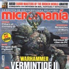 Coleccionismo de Revistas y Periódicos: MICROMANIA N. 274 - EN PORTADA: WARHAMMER VERMINTIDE II (NUEVA). Lote 180218917