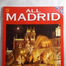 Coleccionismo de Revistas y Periódicos: ALL MADRID ESCUDO DE ORO COLLECTION ALL SPAIN. Lote 180238551