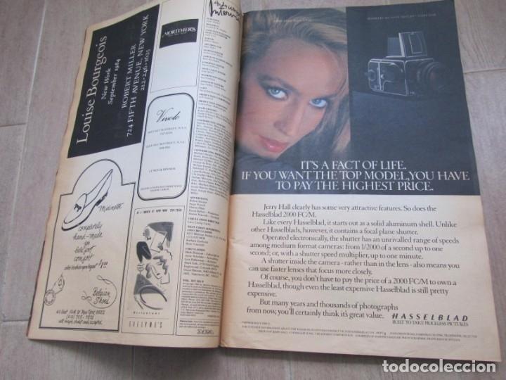 Coleccionismo de Revistas y Periódicos: Revista Interview Septiembre 1984 nº 9 Joan Collins TV Special - Foto 8 - 180242388