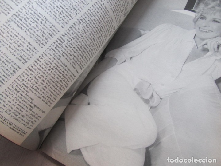 Coleccionismo de Revistas y Periódicos: Revista Interview Septiembre 1984 nº 9 Joan Collins TV Special - Foto 10 - 180242388