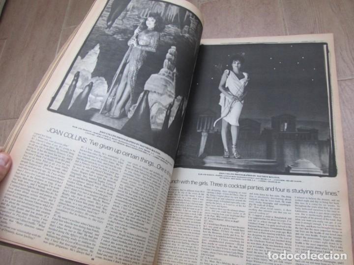 Coleccionismo de Revistas y Periódicos: Revista Interview Septiembre 1984 nº 9 Joan Collins TV Special - Foto 11 - 180242388