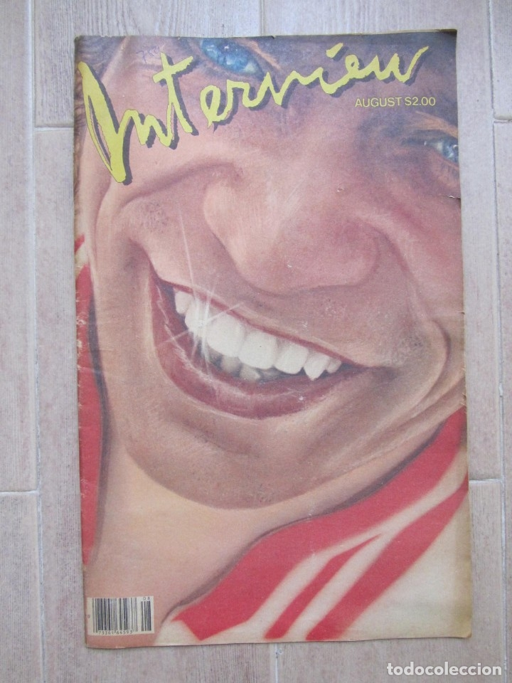 Coleccionismo de Revistas y Periódicos: Revista Interview Agosto 1981 nº 8 Mick Jagger, Rolling Stones - Foto 2 - 180242537