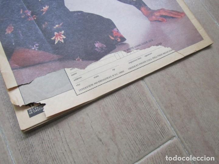 Coleccionismo de Revistas y Periódicos: Revista Interview Agosto 1981 nº 8 Mick Jagger, Rolling Stones - Foto 4 - 180242537