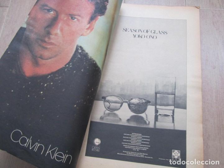 Coleccionismo de Revistas y Periódicos: Revista Interview Agosto 1981 nº 8 Mick Jagger, Rolling Stones - Foto 6 - 180242537
