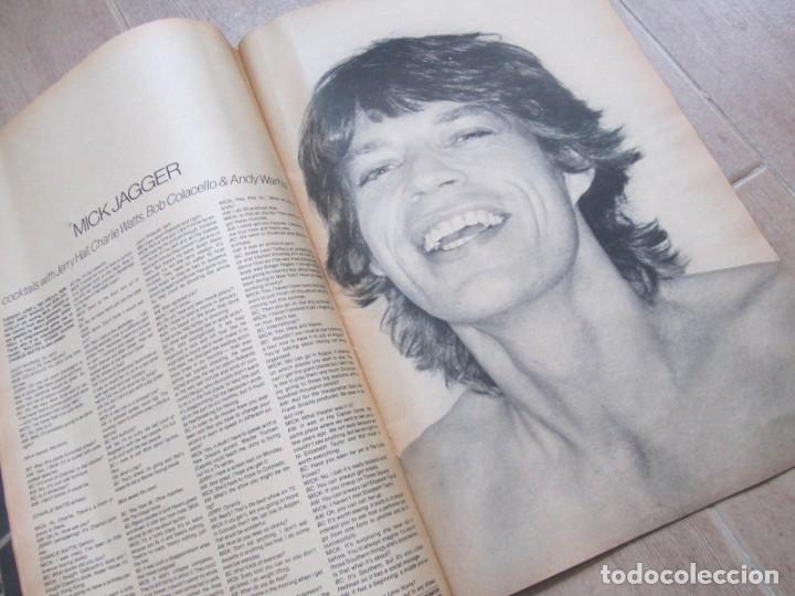Coleccionismo de Revistas y Periódicos: Revista Interview Agosto 1981 nº 8 Mick Jagger, Rolling Stones - Foto 10 - 180242537