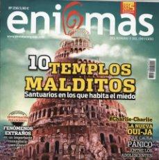 Coleccionismo de Revistas y Periódicos: ENIGMAS N. 236 - EN PORTADA: 10 TEMPLOS MALDITOS (NUEVA). Lote 180245683