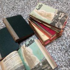 Coleccionismo de Revistas y Periódicos: REVISTA MENSUAL FONTILLES , LOTE DE 150 EJEMPLARES, ALGUNOS ENCUADERNADOS. AÑOS 40-50. Lote 180250903