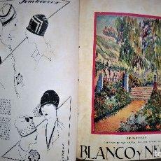 Coleccionismo de Revistas y Periódicos: 11 REVISTAS BLANCO Y NEGRO DE 1927 ENCUADERNADAS DEL NUMERO 1873 AL 1883. Lote 180255880