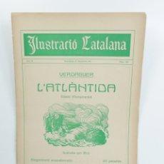 Coleccionismo de Revistas y Periódicos: REVISTA SETMANAL ILUSTRACIÓ CATALANA Nº 445 - 17 DE DICIEMBRE DE 1911. Lote 180272095