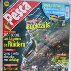 Coleccionismo de Revistas y Periódicos: FEDER PESCA LA REVISTA LIDER DE LA PESCA Nº 99 ENERO 2005 TODO SOBRE LAS LAGUNAS DE RUIDERA . Lote 180284822