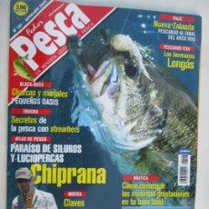 Coleccionismo de Revistas y Periódicos: FEDER PESCA LA REVISTA LIDER DE LA PESCA Nº 107 CHASRCAS Y MARJALES PEQUEÑOS OASIS . Lote 180285025