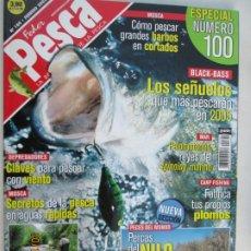 Coleccionismo de Revistas y Periódicos: FEDER PESCA LA REVISTA LIDER DE LA PESCA Nº 100 -02-2005- ESPECIAL Nº 100. Lote 180285100