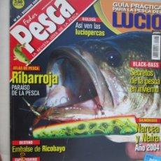 Coleccionismo de Revistas y Periódicos: FEDER PESCA LA REVISTA LIDER DE LA PESCA Nº 98 12-2004 GUIA PRACTICA PARA LA PESCA . Lote 180285212