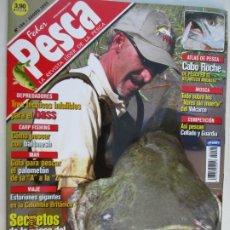 Coleccionismo de Revistas y Periódicos: FEDER PESCA LA REVISTA LIDER DE LA PESCA Nº 106 AGOSTO 2005 SECRETOS DE LA PESCA DEL SILURO . Lote 180285366
