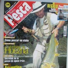 Coleccionismo de Revistas y Periódicos: FEDER PESCA LA REVISTA LIDER DE LA PESCA Nº 73 NOVIEMBRE 2002 EMBALSE HUEZNA . Lote 180285487