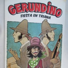 Coleccionismo de Revistas y Periódicos: GERUNDINO , FIESTA EN TRIANA,UN VIAJE A TRAVÉS DEL FLAMENCO, BUJÍO DE IDEAS 2010 . Lote 180286247