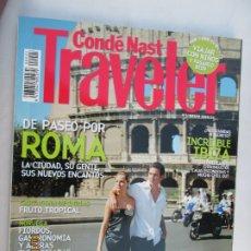 Coleccionismo de Revistas y Periódicos: CONDÉ NAST TRAVELER Nº 5 REVISTA , DE PASEO POR ROMA . Lote 180286658