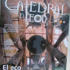 Coleccionismo de Revistas y Periódicos: CATEDRAL DE LEON REVISTA Nº 3 EL ECO DE LA PULCHRA , LA TORRE DE LAS CAMPANAS -06-20017. Lote 180286752