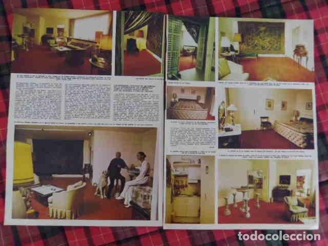 Coleccionismo de Revistas y Periódicos: recorte Curd Jurgens fotos, artículo actor europeo - Foto 2 - 180291792