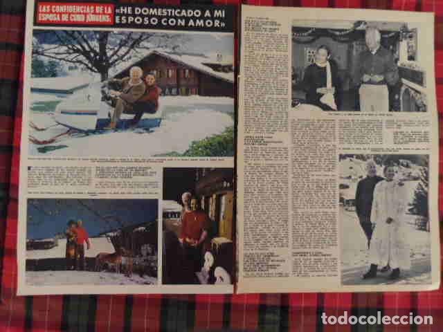 RECORTE CURD JURGENS FOTOS, ARTÍCULO ACTOR EUROPEO (Coleccionismo - Revistas y Periódicos Modernos (a partir de 1.940) - Otros)