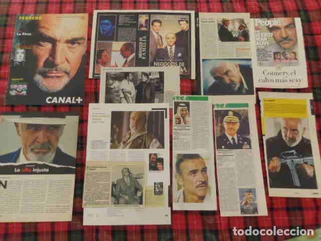 RECORTE SEAN CONNERY FOTOS, ARTÍCULO ACTOR EUROPEO (Coleccionismo - Revistas y Periódicos Modernos (a partir de 1.940) - Otros)