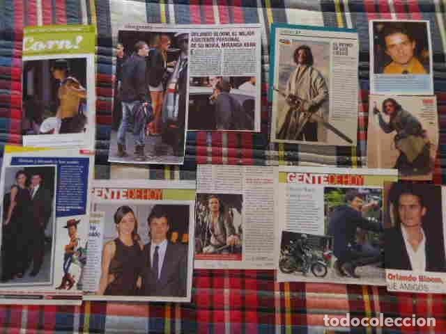 Coleccionismo de Revistas y Periódicos: recorte Orlando Bloom fotos, artículo actor europeo - Foto 2 - 180293381