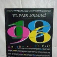 Coleccionismo de Revistas y Periódicos: EL PAIS SEMANAL - UN AÑO EN EL PAÍS - Nº 1057-1996. Lote 180296621