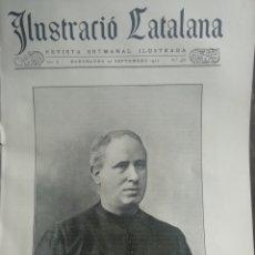 Coleccionismo de Revistas y Periódicos: ILUSTRACIÓ CATALANA Nº485 1912 FOTOS VILA D'ARTÉS (BGES). Lote 180335018