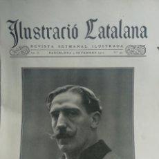 Coleccionismo de Revistas y Periódicos: ILUSTRACIÓ CATALANA Nº491 1912 FOTOS TOSES TUNEL TOSES - VERNTALLAT . Lote 180335257