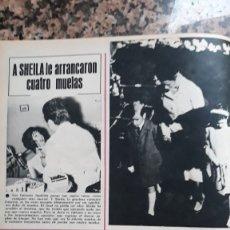 Coleccionismo de Revistas y Periódicos: GEORGE CHAKIRIS RITA MORENO SHEILA CANTANTE CAROLINA ESTEFANIA DE MONACO GRACE KELLY. Lote 180369523