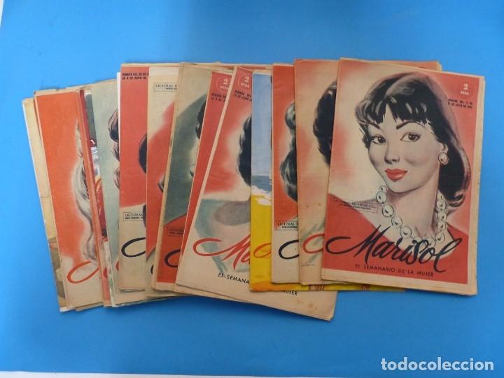 MARISOL - 21 REVISTAS DIFERENTES 4 DE ELLAS NUMEROS EXTRAORDINARIOS - AÑOS 1955-1956 (Coleccionismo - Revistas y Periódicos Modernos (a partir de 1.940) - Otros)