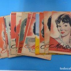 Coleccionismo de Revistas y Periódicos: MARISOL - 21 REVISTAS DIFERENTES 4 DE ELLAS NUMEROS EXTRAORDINARIOS - AÑOS 1955-1956. Lote 180388165