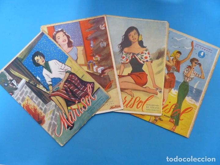 Coleccionismo de Revistas y Periódicos: MARISOL - 21 REVISTAS DIFERENTES 4 DE ELLAS NUMEROS EXTRAORDINARIOS - AÑOS 1955-1956 - Foto 2 - 180388165