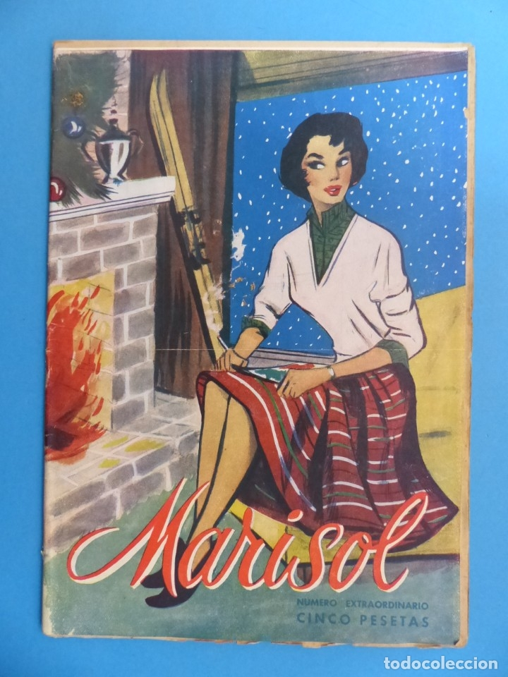 Coleccionismo de Revistas y Periódicos: MARISOL - 21 REVISTAS DIFERENTES 4 DE ELLAS NUMEROS EXTRAORDINARIOS - AÑOS 1955-1956 - Foto 3 - 180388165