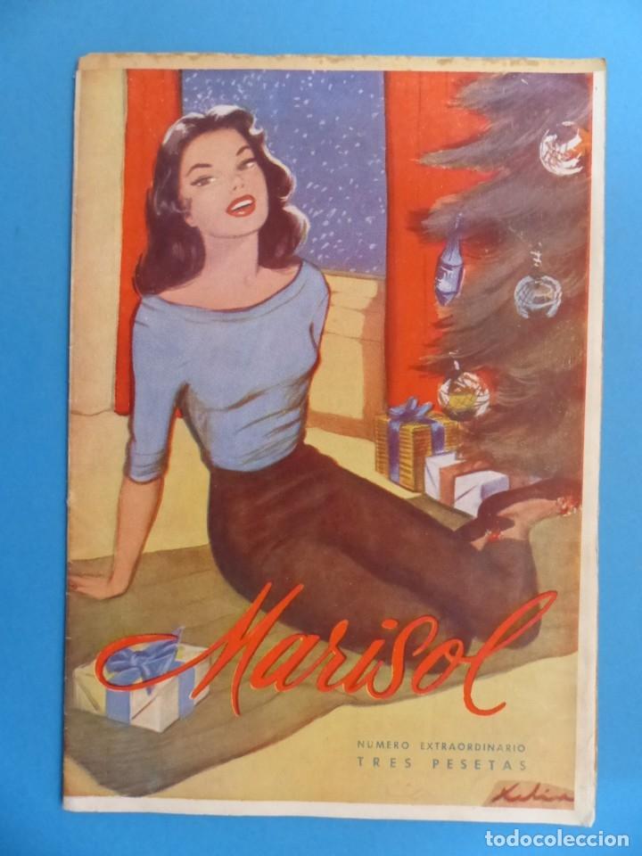 Coleccionismo de Revistas y Periódicos: MARISOL - 21 REVISTAS DIFERENTES 4 DE ELLAS NUMEROS EXTRAORDINARIOS - AÑOS 1955-1956 - Foto 4 - 180388165