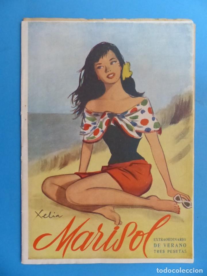 Coleccionismo de Revistas y Periódicos: MARISOL - 21 REVISTAS DIFERENTES 4 DE ELLAS NUMEROS EXTRAORDINARIOS - AÑOS 1955-1956 - Foto 5 - 180388165