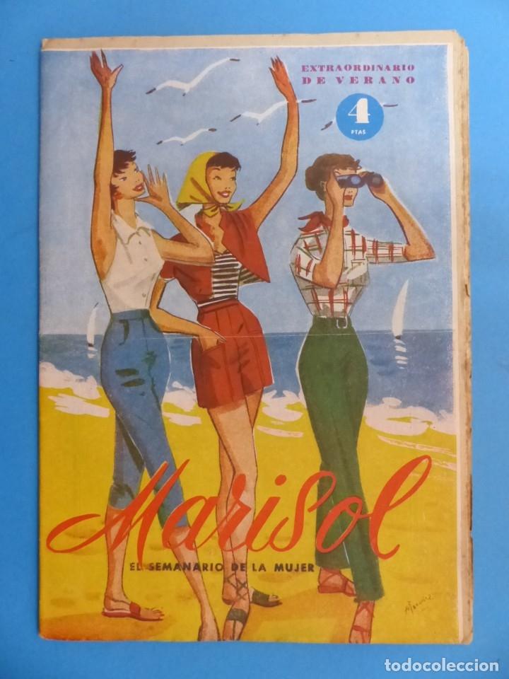 Coleccionismo de Revistas y Periódicos: MARISOL - 21 REVISTAS DIFERENTES 4 DE ELLAS NUMEROS EXTRAORDINARIOS - AÑOS 1955-1956 - Foto 6 - 180388165