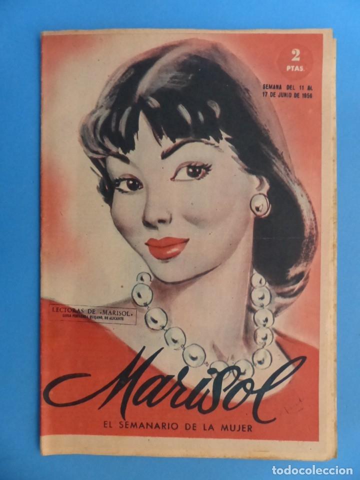Coleccionismo de Revistas y Periódicos: MARISOL - 21 REVISTAS DIFERENTES 4 DE ELLAS NUMEROS EXTRAORDINARIOS - AÑOS 1955-1956 - Foto 7 - 180388165