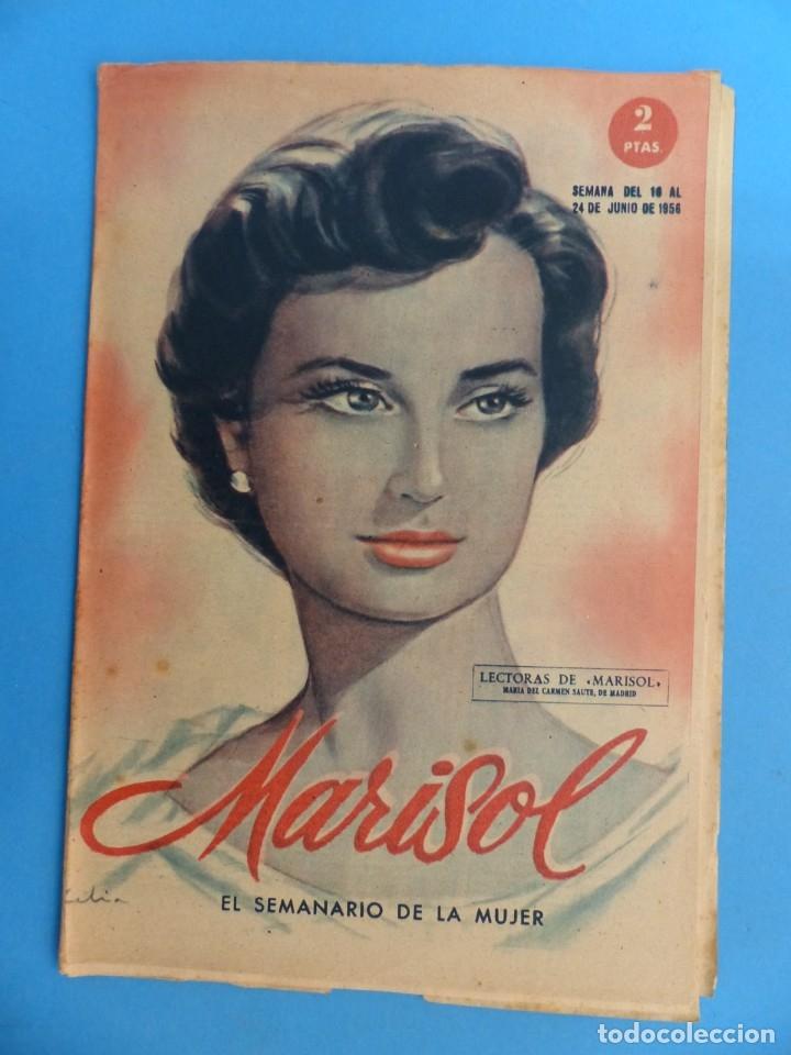 Coleccionismo de Revistas y Periódicos: MARISOL - 21 REVISTAS DIFERENTES 4 DE ELLAS NUMEROS EXTRAORDINARIOS - AÑOS 1955-1956 - Foto 8 - 180388165