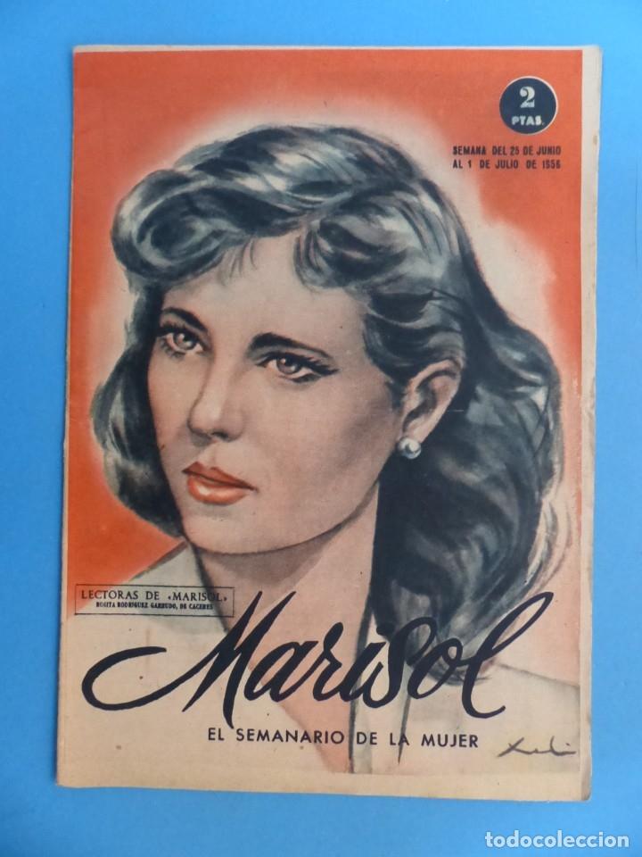 Coleccionismo de Revistas y Periódicos: MARISOL - 21 REVISTAS DIFERENTES 4 DE ELLAS NUMEROS EXTRAORDINARIOS - AÑOS 1955-1956 - Foto 9 - 180388165