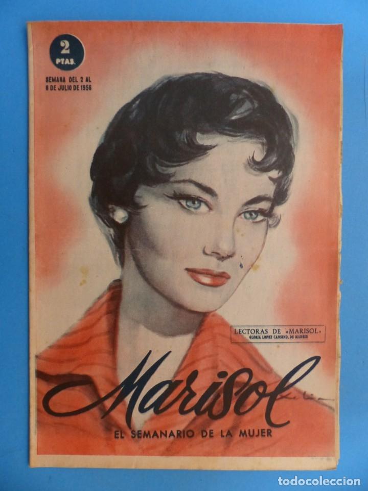 Coleccionismo de Revistas y Periódicos: MARISOL - 21 REVISTAS DIFERENTES 4 DE ELLAS NUMEROS EXTRAORDINARIOS - AÑOS 1955-1956 - Foto 10 - 180388165